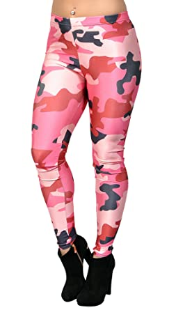 aa64a238292df Image Unavailable. Image not available for. Color: BadAssLeggings Women's  Camo Leggings ...