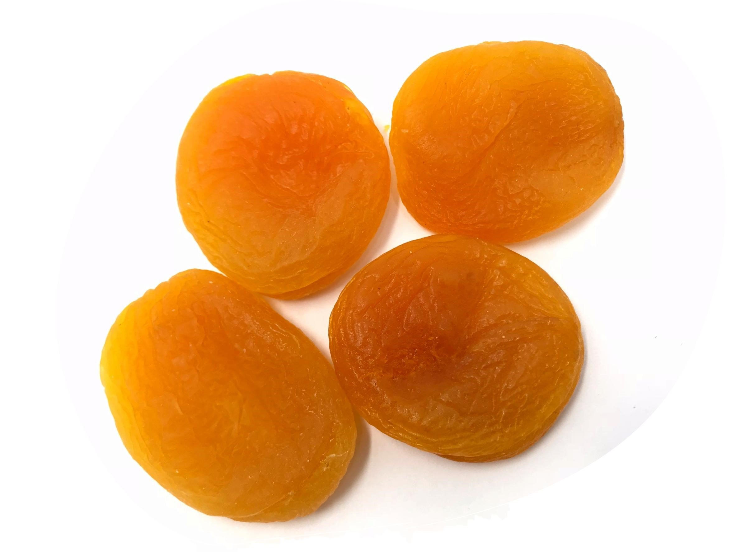 NUTS U.S. - Dried Apricots, Gourmet Turkish Apricots, JUMBO, SIZE #1, 2 LB (Pack of 2)