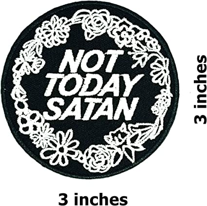 Funny Joke Wording Logo Sew Iron On Patch Embroidered Applique