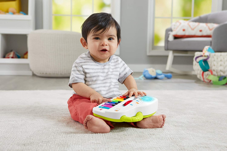 juguete musical para beb/é Mattel GFK00 Fisher-Price Piano juega y aprende 6 meses