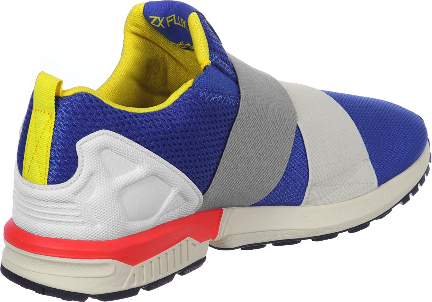 adidas Women's ZX Flux Slip On Trainers Blue Ftwr White-Yellow-Blue:  Amazon.co.uk: Shoes & Bags