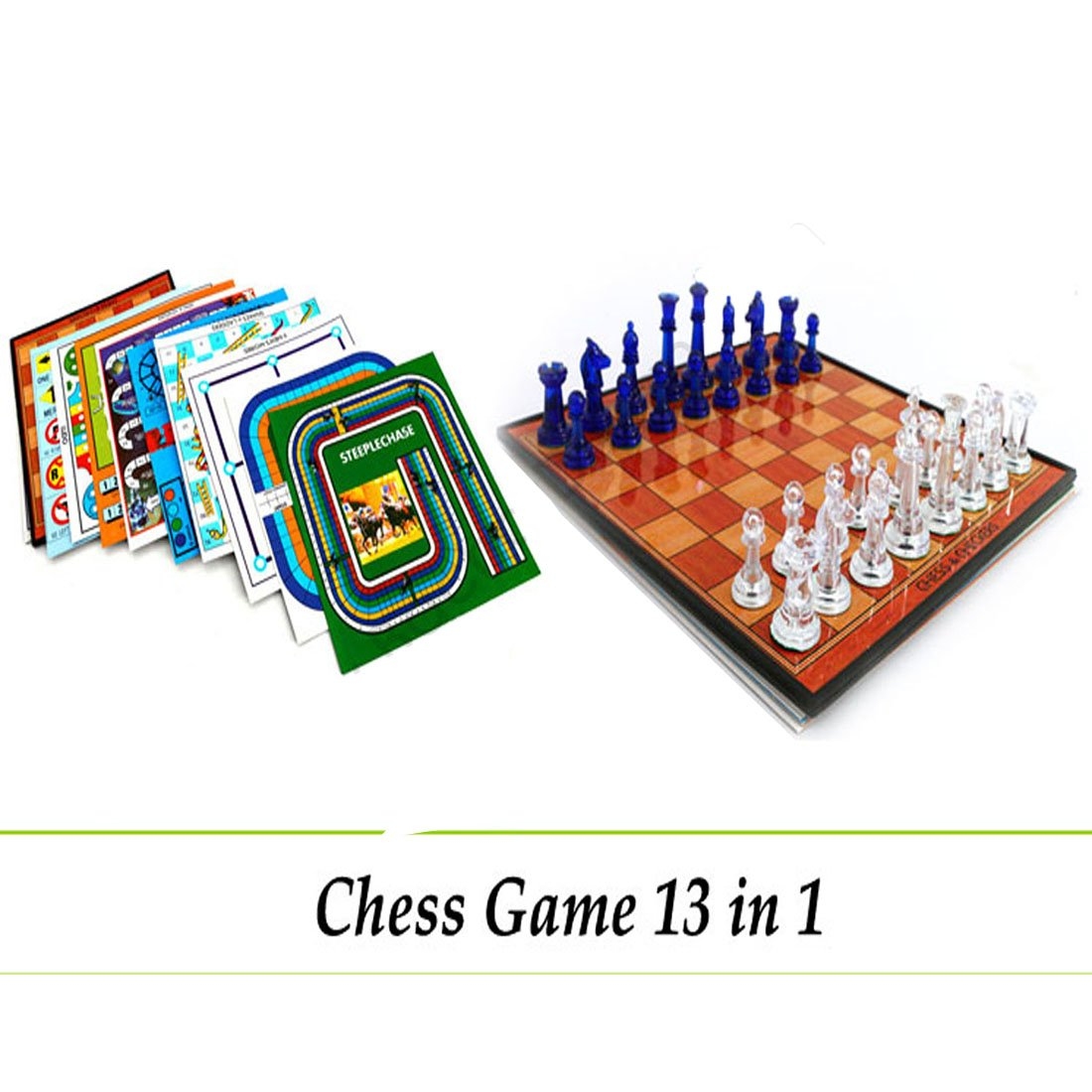 Magnetic Chess Set With 13 More Multi Board Game For Circuit Games Kids Toys