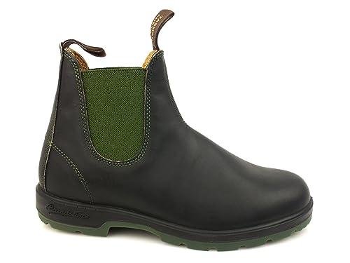 Verde Blundstone Stivaletto Black Olive Nero Elastico Pelle 1402 Polacco cL43qS5RjA