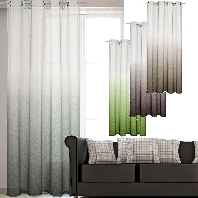 Neu Vorhang Gardine Unterschied Design