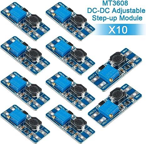 DC DC Converter Step Up Boost Modul 2V bis 24V Einstellbares