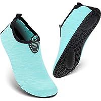 HEETA Water Sports Shoes for Women Men Quick Dry Aqua Shoes Barefoot Socks Swim Beach Swim Shoes Size: 10.5-11 Women/8-9 Men