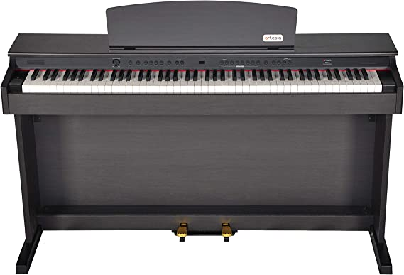 Artesia DP-2 Series 88-Weighted Keys Traditional Console Digital Piano w/Matching Bench