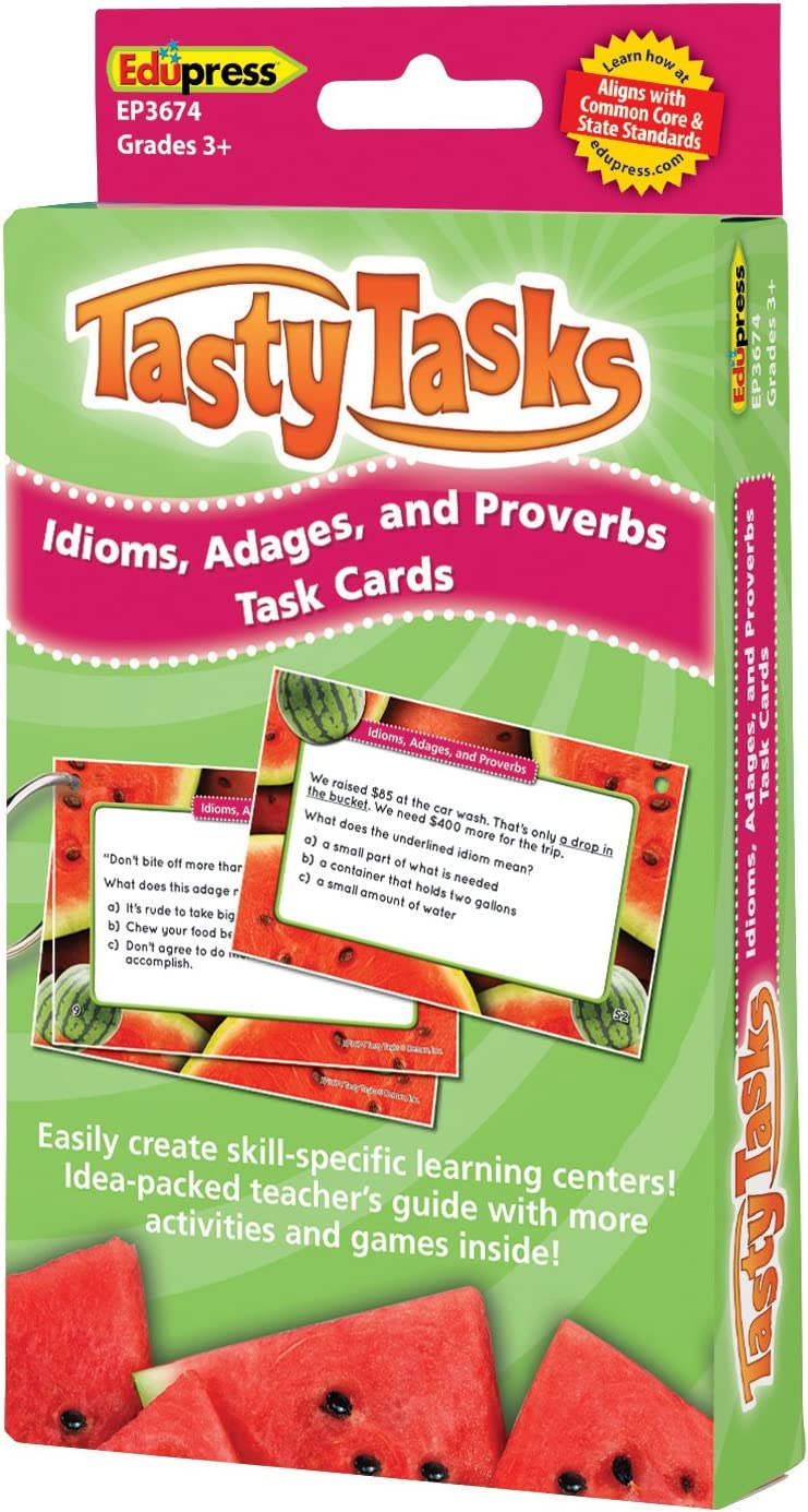 EP63674 Teacher Created Resources OS Edupress Language Arts Cards Teaching Material