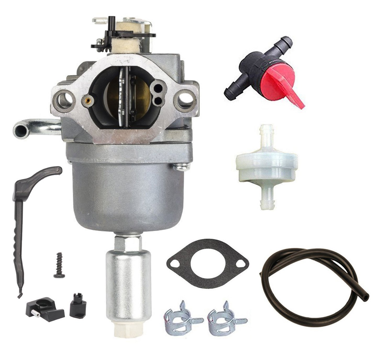 Oxoxo faciles à 594593kit de réglage carburateur avec filtre à carburant pour Briggs Stratton 591731593514697141697190698445699109699937791858791888792171792358793
