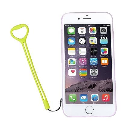 Dedo Grip soporte para teléfono elástica correa de teléfono móvil encanto, tankerstreet teléfono agarre titular