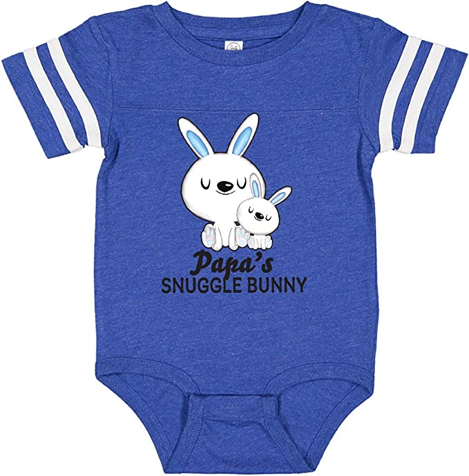 inktastic Papas Snuggle Bunny Easter Toddler Long Sleeve T-Shirt