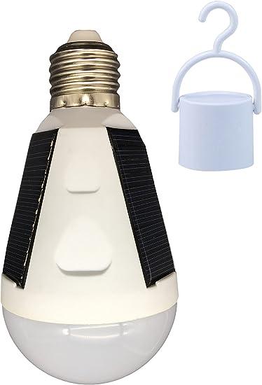 Portable 12W 26 LED E27 IP65 1200mAh Solar Panel Powered Bulb Light Lamp Camping