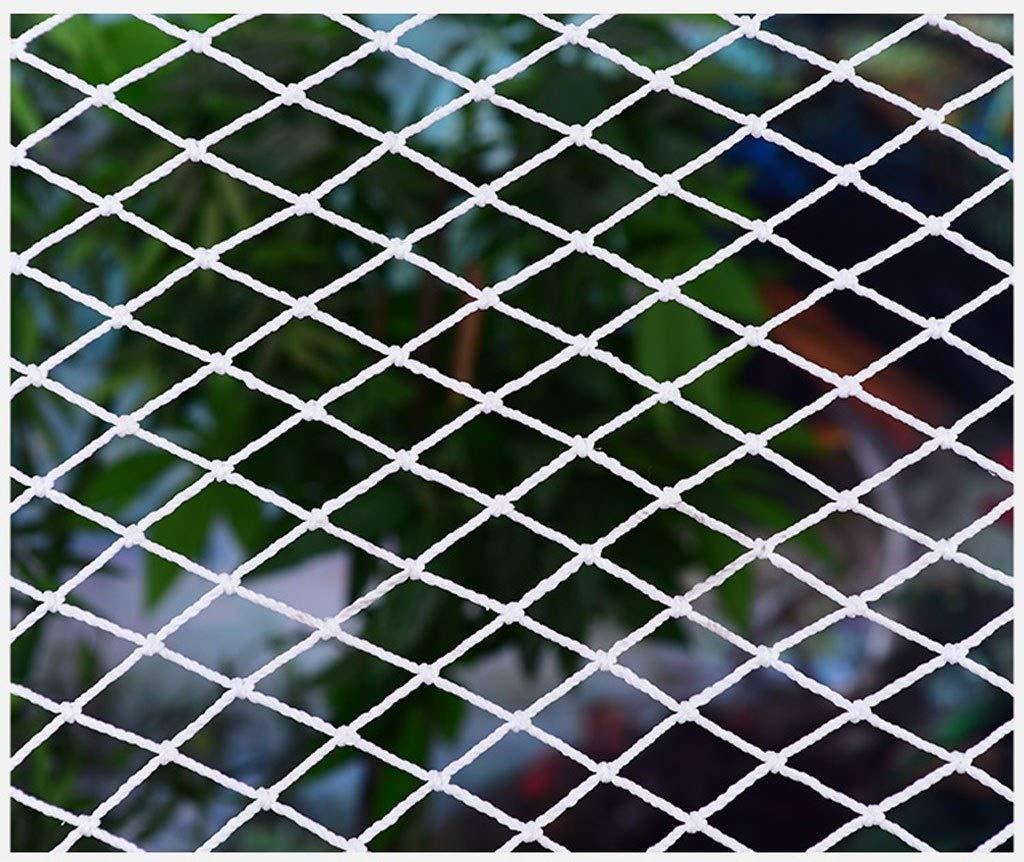 - ANquanwang Filet De Prougeection Blanc, Filet De Nylon, Filet De Sécurité, Escaliers De Prougeection pour Enfants, Balcon, Filet De Prougeection, Filet De Prougeection Anti-Chute Filet Filet Anti-Chat Filet 22m