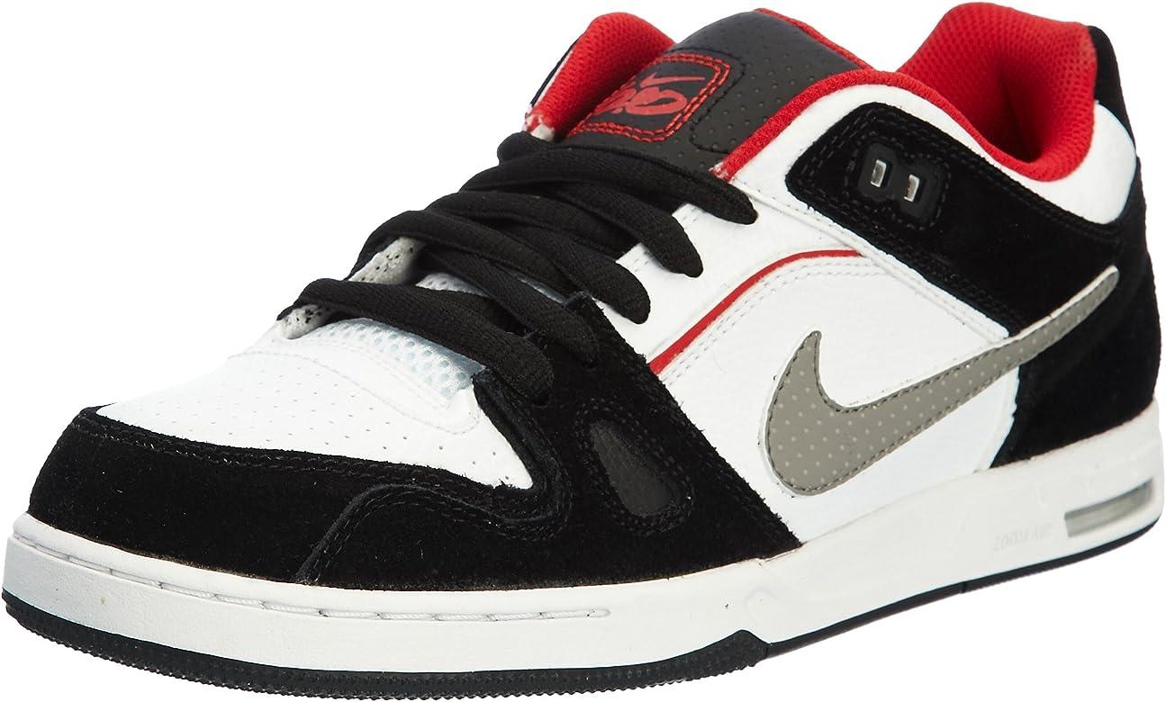 Nike 6.0 Zoom Oncore 2 Hombre Guantes, Blanco Negro Rojo