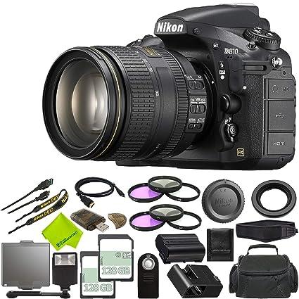 Amazon com : Nikon D810 DSLR Camera with 24-120mm Lens +