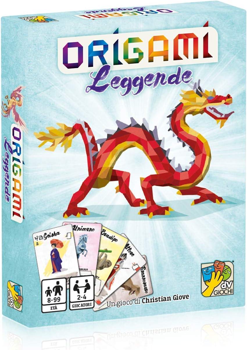 DV Giochi Leggende-Il Segundo capítulo del Juego de Mesa Origami-Edición Italiana, DVG9366: Amazon.es: Juguetes y juegos