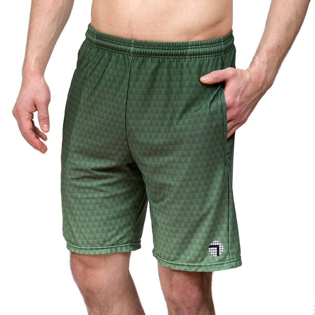"ab6987730a Amazon.com: ATK Apparel Flow Gym Shorts- Tailored for Men 5'8"" and ..."
