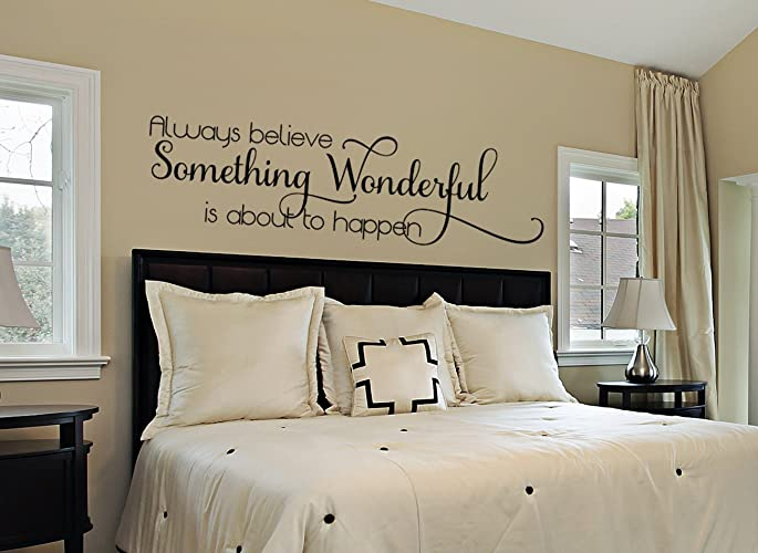 Amazon.com: Bedroom Wall Decal - Bedroom Decor - Master Bedroom ...