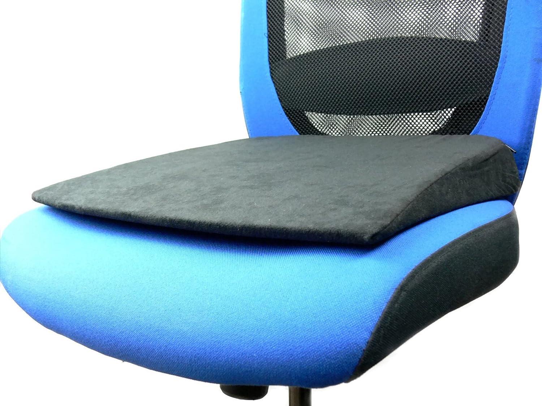 Kegel  Blazusiak Front Car Driver Seat Heightening Luxury Mat Support Cushion Wedge Booster Foam Ideal for Car Office Kegel Blazusiak