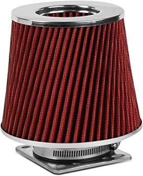 "BLACK 6 Inches 6/"" 152mm Inlet Cold Air Intake Cone TRUCK FILTER Mazda /& Ford"