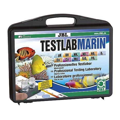 JBL 2550300 Testkoffer Profesional para la exacta Análisis de agua de mar, Ha Marin