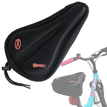 Amazon.com: WINNINGO - Cojín de gel para sillín de bicicleta ...