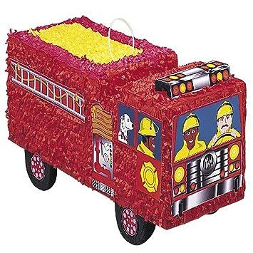 Unique Party- Piñata camión de bomberos (6606)