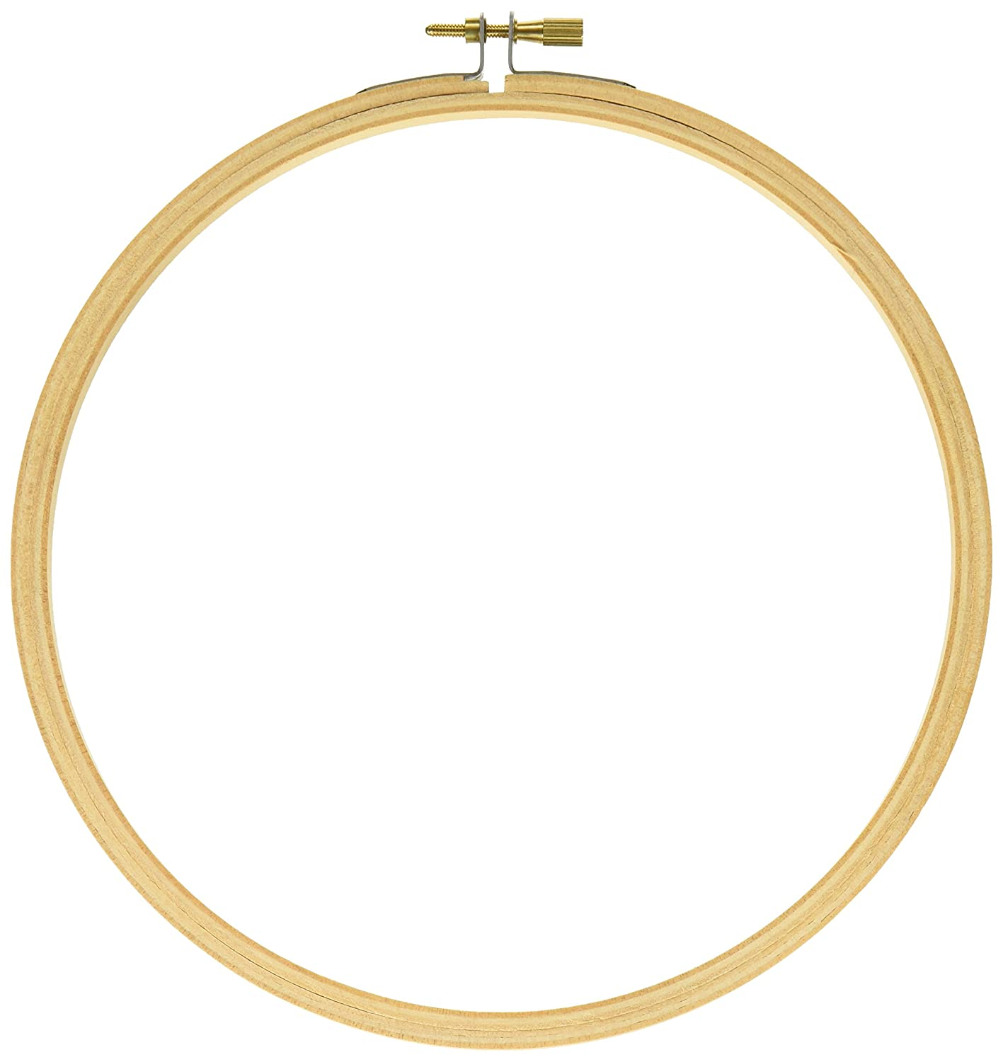 9-Inch Darice Wood Embroidery Hoops