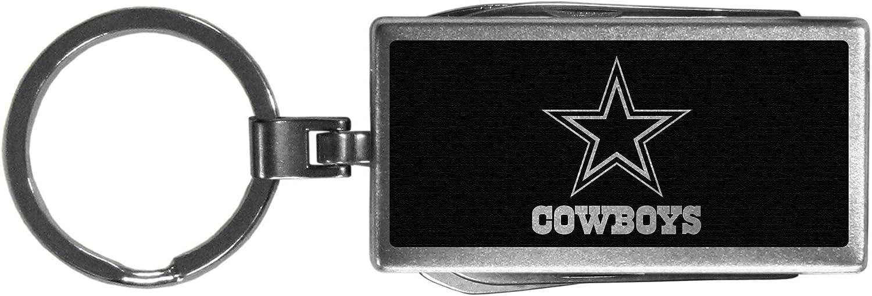 NFL Siskiyou Sports Fan Shop Dallas Cowboys Multi-tool Key Chain, Black One Size Black : Sports & Outdoors