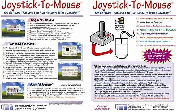 Amazon com: Joystick-To-Mouse [Download]: Software