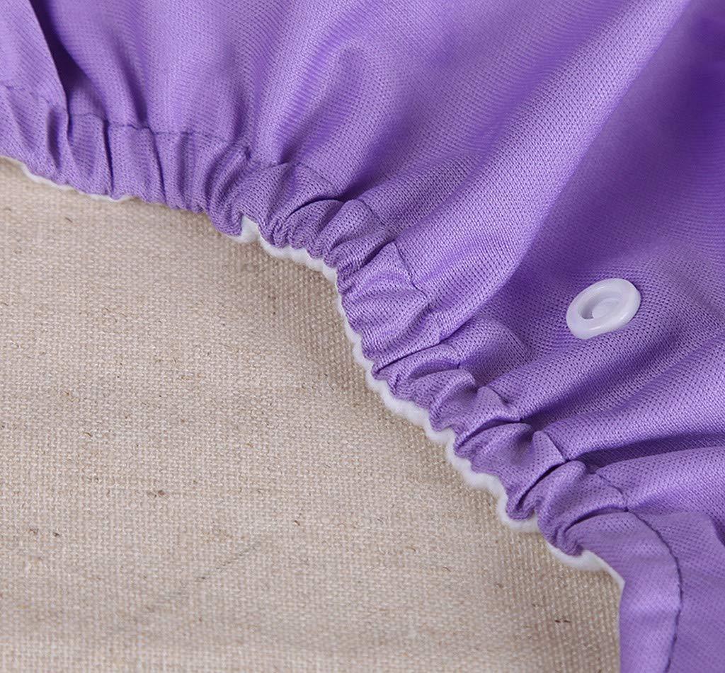 Matoen Baby Kid Newborn Reusable Nappies Adjustable Diaper Washable Cloth leakproo Diaper (Purple) by Matoen (Image #7)