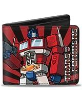BD-Transformers Optimus Prime portefeuille en cuir