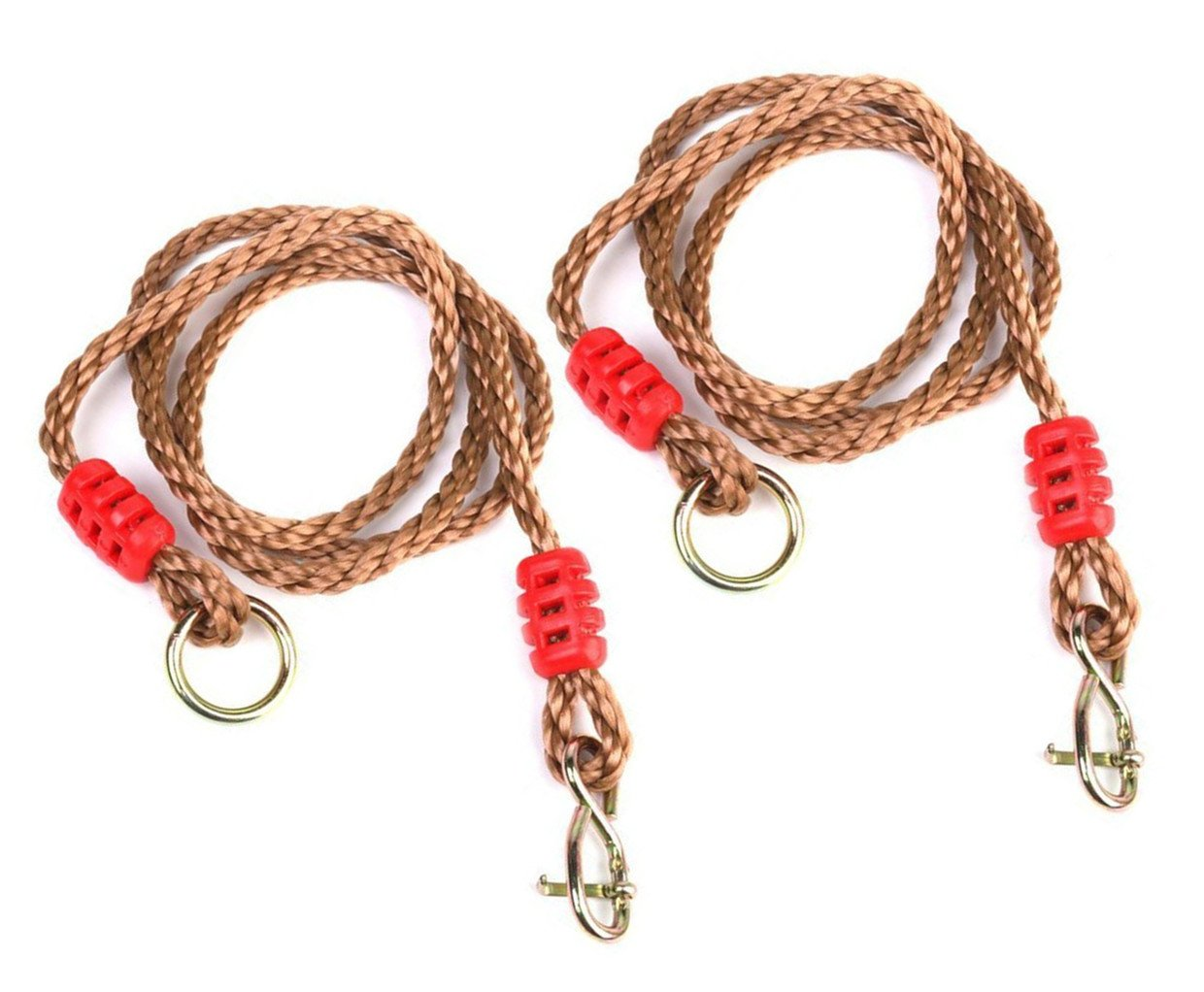 COMINGFIT 650lbs Capacity Hammock Chair Hanging Ropes Outdoor Hammock Hanging Straps Tree Swing Ropes (Pack of 2)