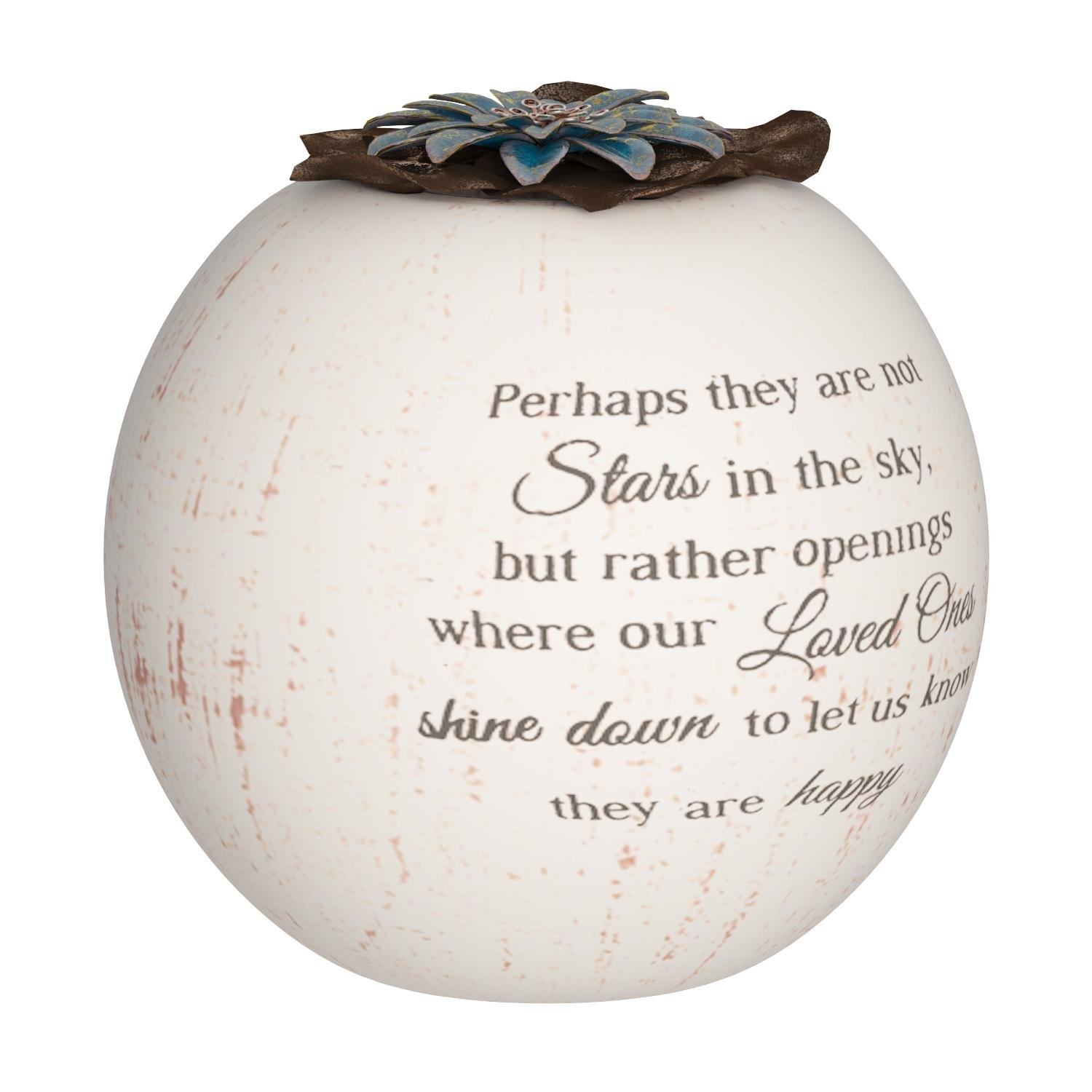 Pavilion Gift Company 19095 Stars in The Sky Candle Holder, 5-Inch, Terra Cotta by Pavilion Gift Company (Image #4)