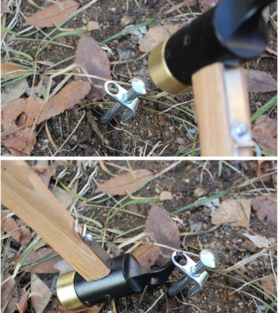 Toygogo 5pcs Piquets de Fixation en Acier Galvanis/é pour Tuyau dArrosage Cl/ôture et Filet 200mm // 300mm // 400mm Long