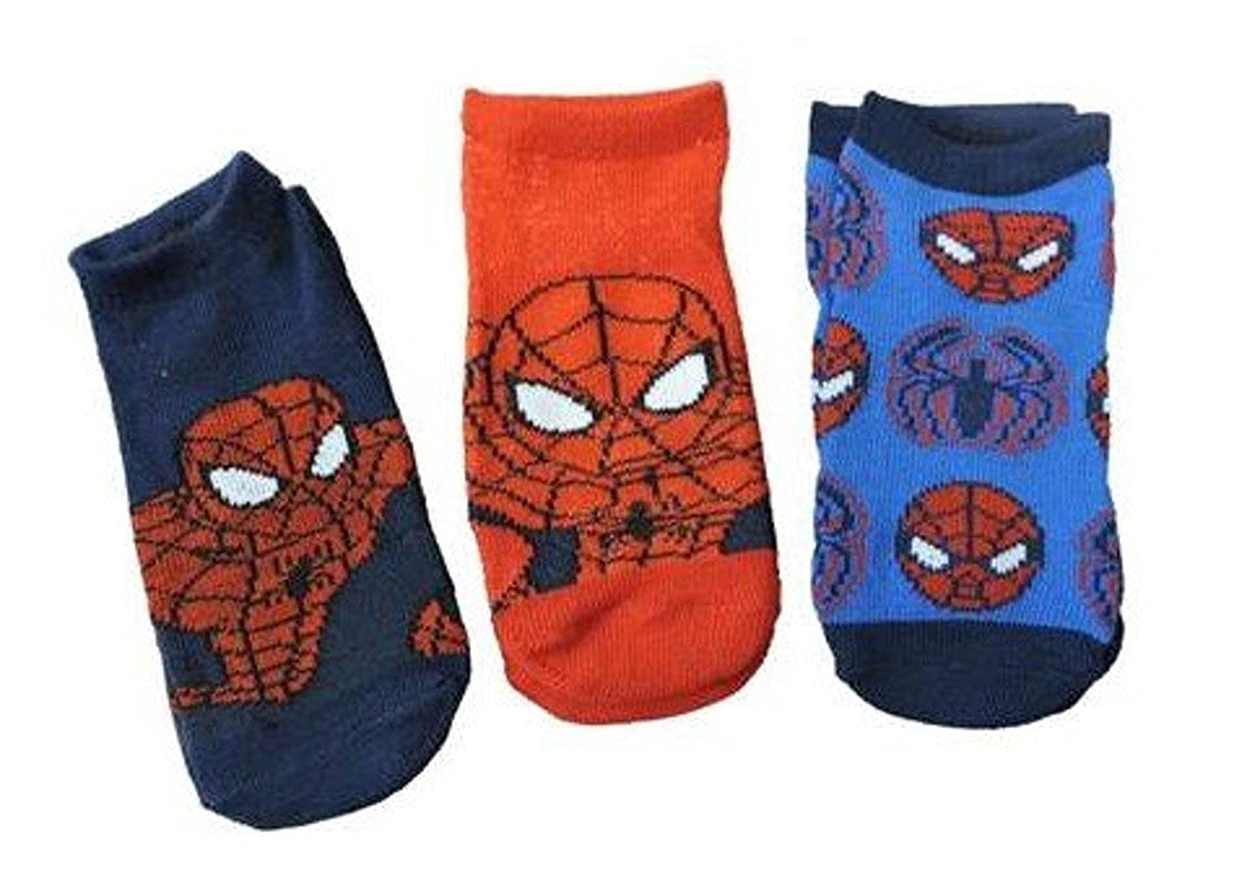 Spiderman Kids 3 pack Socks, size 2T-4T