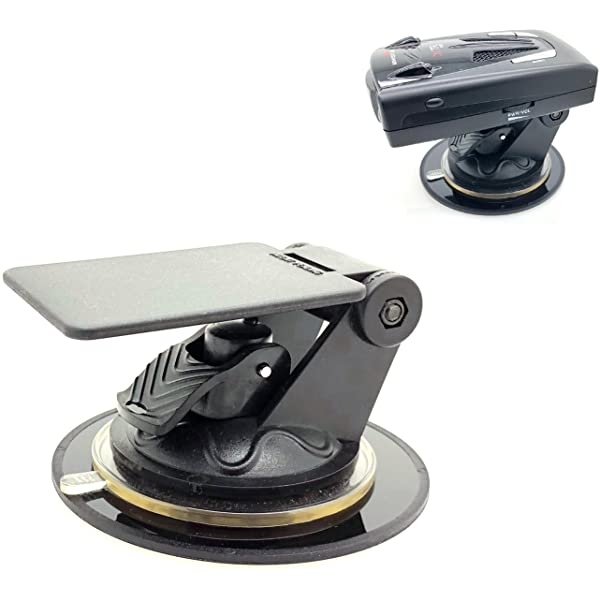 Deluxe Single Suction Windshield Mount for Bluetooth GPS Receivers and E-Z Pass//Carpool toll road devices Arkon Radar Detectors BT010
