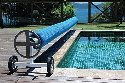 Kokido Kalu Aluminum Swimming Pool Cover Reel (Up to 18.7 ft)   K936WBX