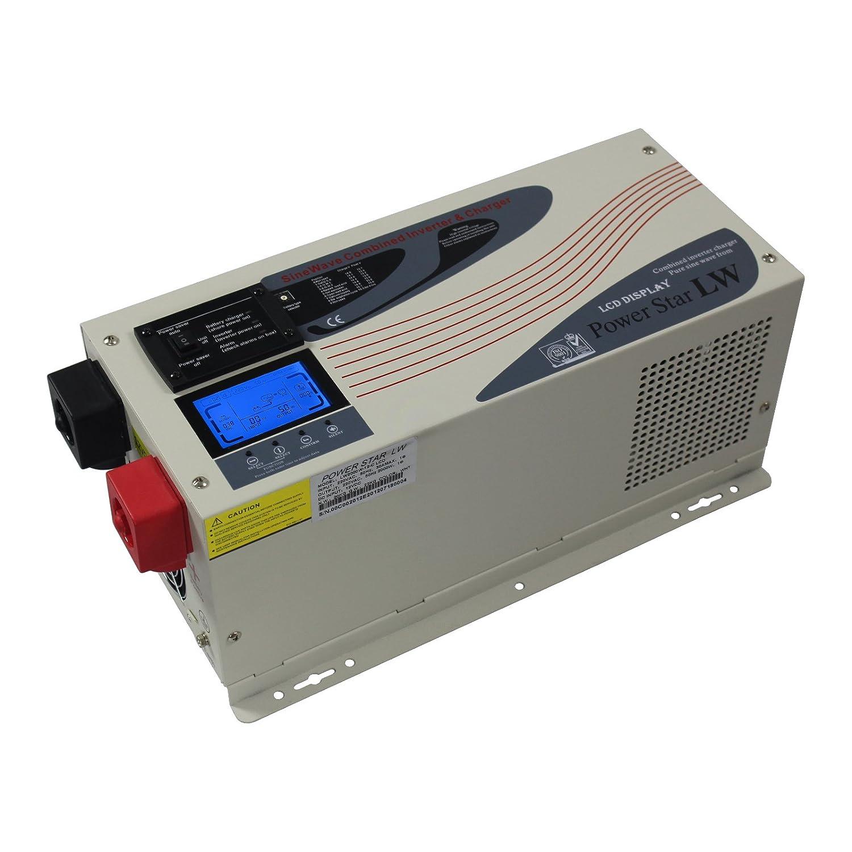 6000w 24v Low Frequency Pure Sine Wave Off Grid Power Prime Genset Pr7500cl 6000watt 3000w Inverter 220v 240v Ac