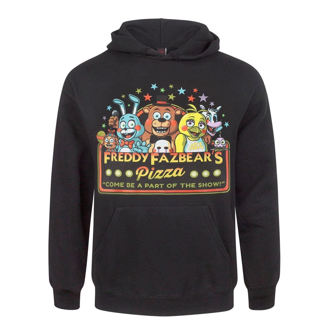 Five Nights At Freddys Official Mens Part of The Show Hoodie