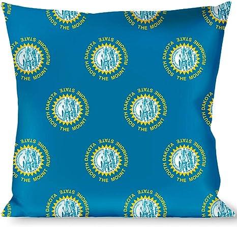Pillow Decorative Throw South Dakota Flags Home Kitchen