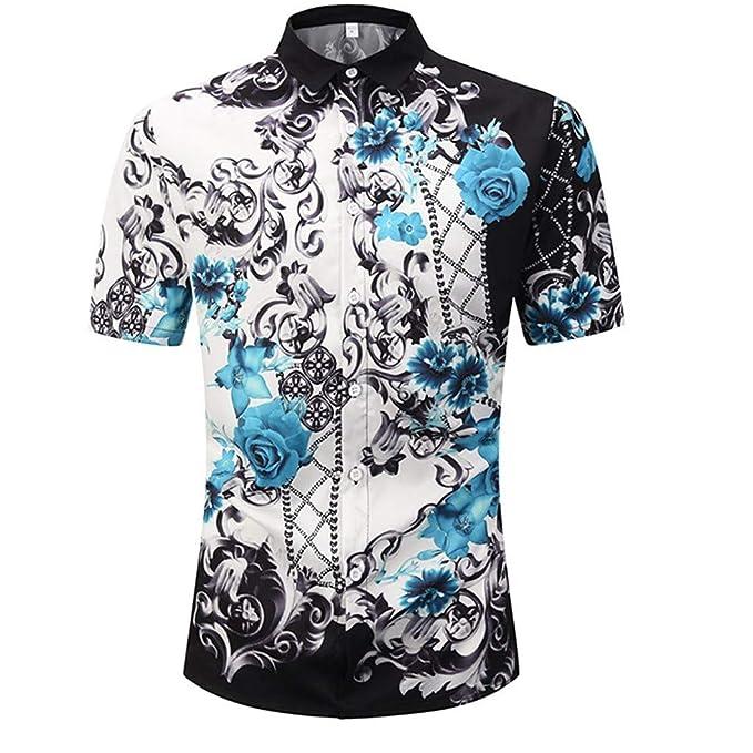 sale retailer 8b95a e29ac Xmiral Camicie hawaiane Tropicali da Uomo #971804: Amazon.it ...