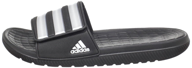 finest selection aebf0 affef adidas Alquo Vario Sandal, Black Metallic Silver White, 12 D Us   Amazon.co.uk  Shoes   Bags