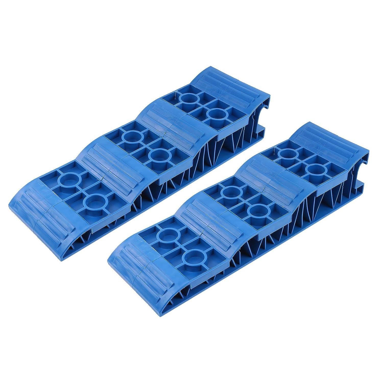 Jumbo Auffahrkeile Stufenkeile Blau fü r Wohnwagen & Wohnmobil, 2,5 Tonnen pro Achse Ha ba