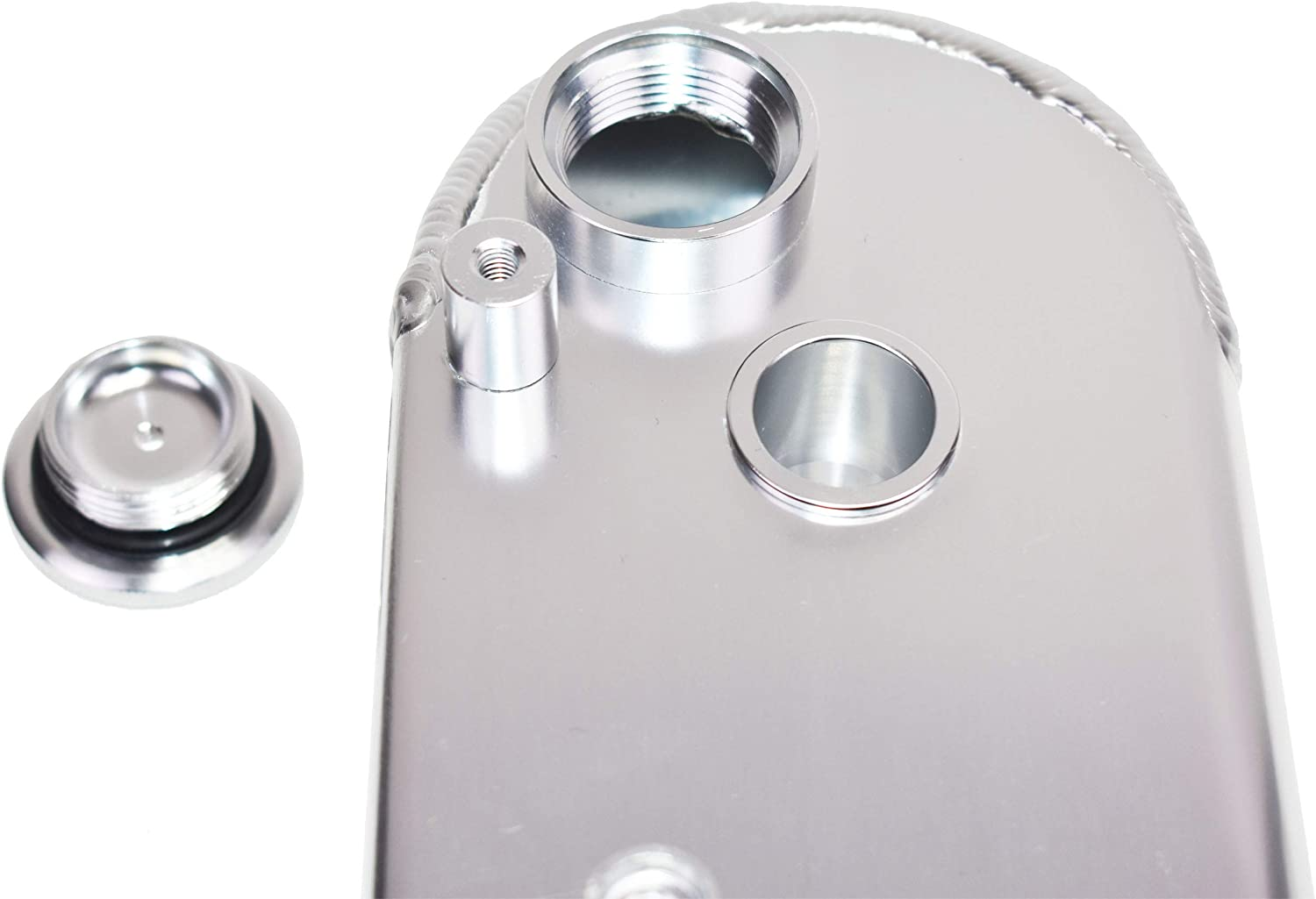 A-Team Performance Fabricated Aluminum Valve Covers with Gasket Coil Mounts Compatible with GM LSX Black