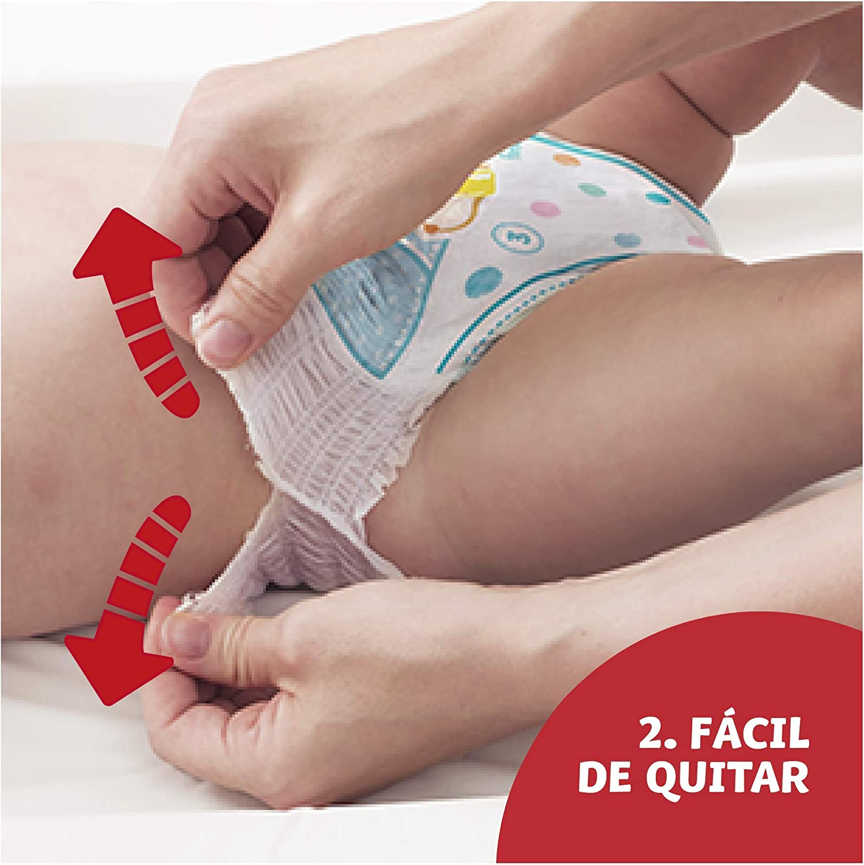 Dodot Pants Pa/ñal 17 kg + fugas Pa/ñal Braguita Talla 7 Braguita Con Ajuste 360/° Anti 92 Pa/ñales