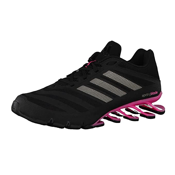 buy popular 2a1a2 84c76 adidas Giacca Scarpe, Spring Blade, Nero (Core Black Iron Met. Solar Pink),  42 2 3  Amazon.it  Scarpe e borse