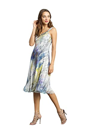 3b3c778ba8 Komarov Botanical Breeze Scarf Dress (X-Large