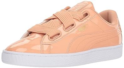 finest selection 3351e 4b90f PUMA Women's Basket Heart Patent Sneaker