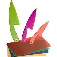 GarMills Set de Cuchillos para Niños, 3 Unidades